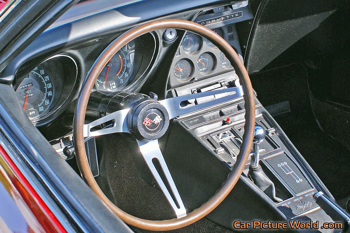 1968 Corvette Convertible Dash