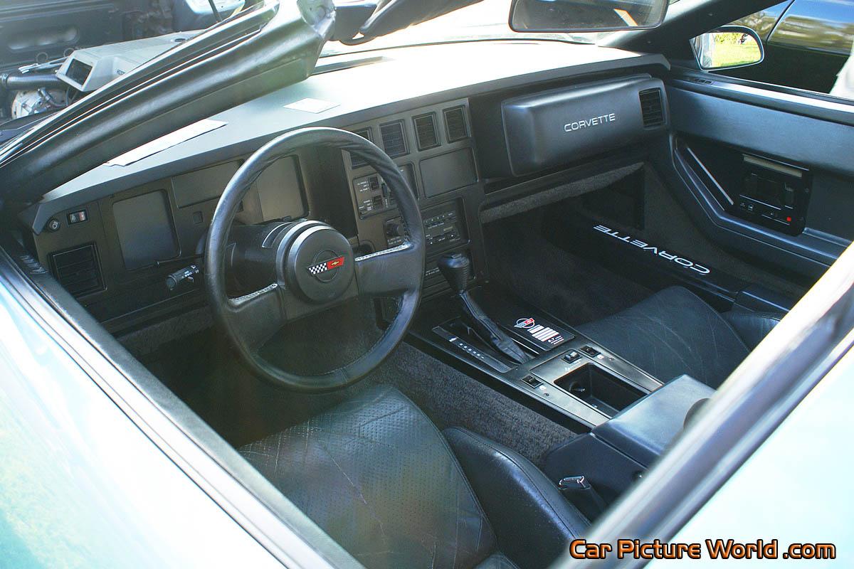 1984 Corvette Interior
