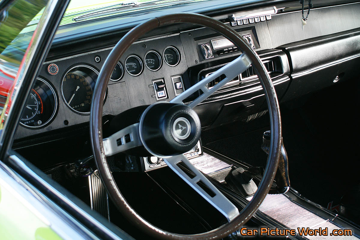 Cars Logos With Their Names >> 1968 Dodge Charger RT Dash Picture