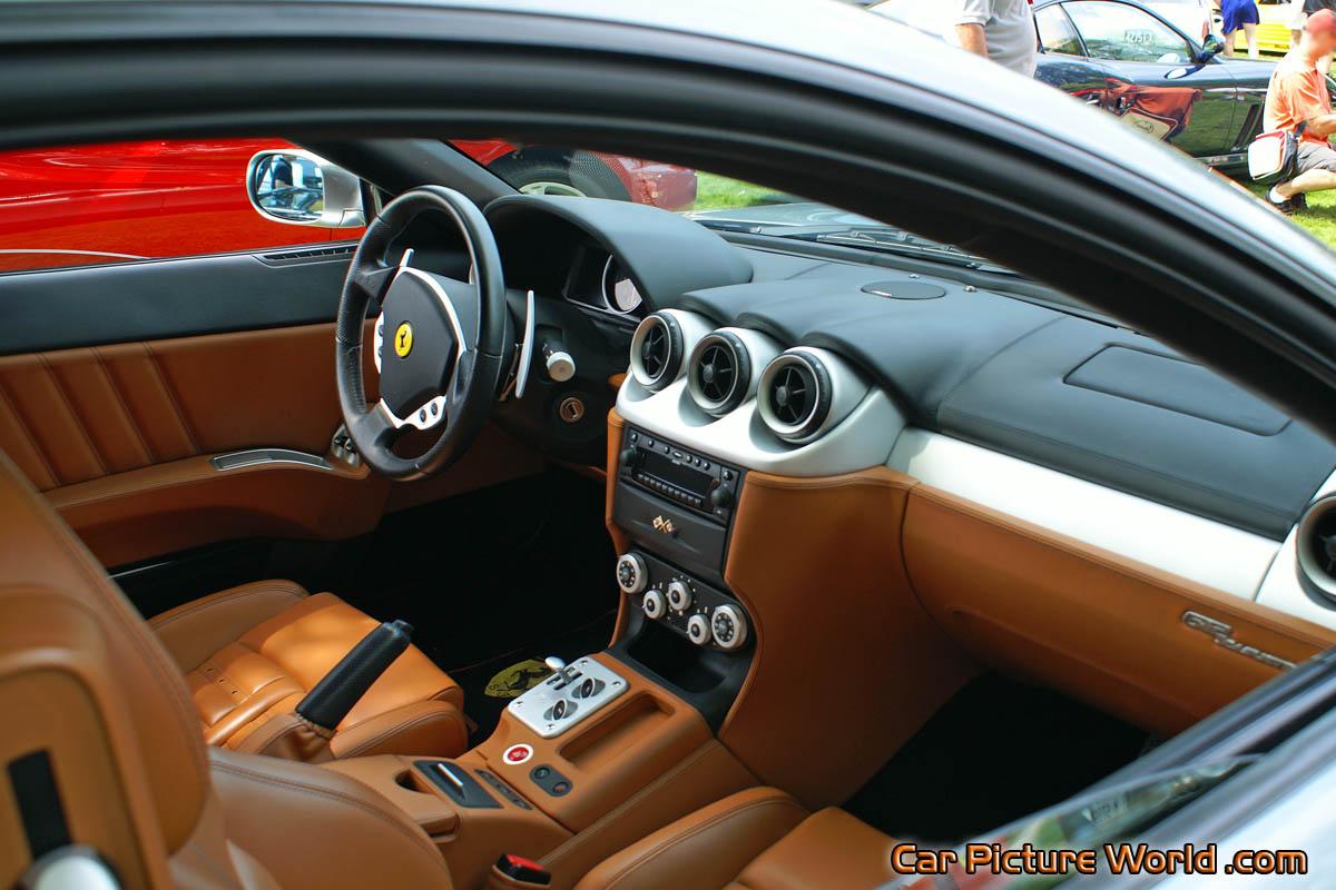 Ferrari 612 Scaglietti Interior Picture