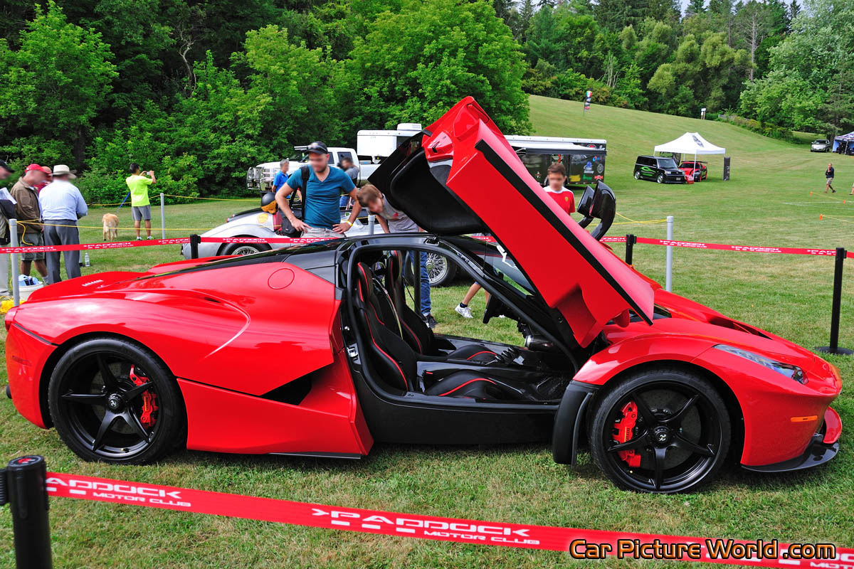 Laferrari Right Side Doors Open Picture