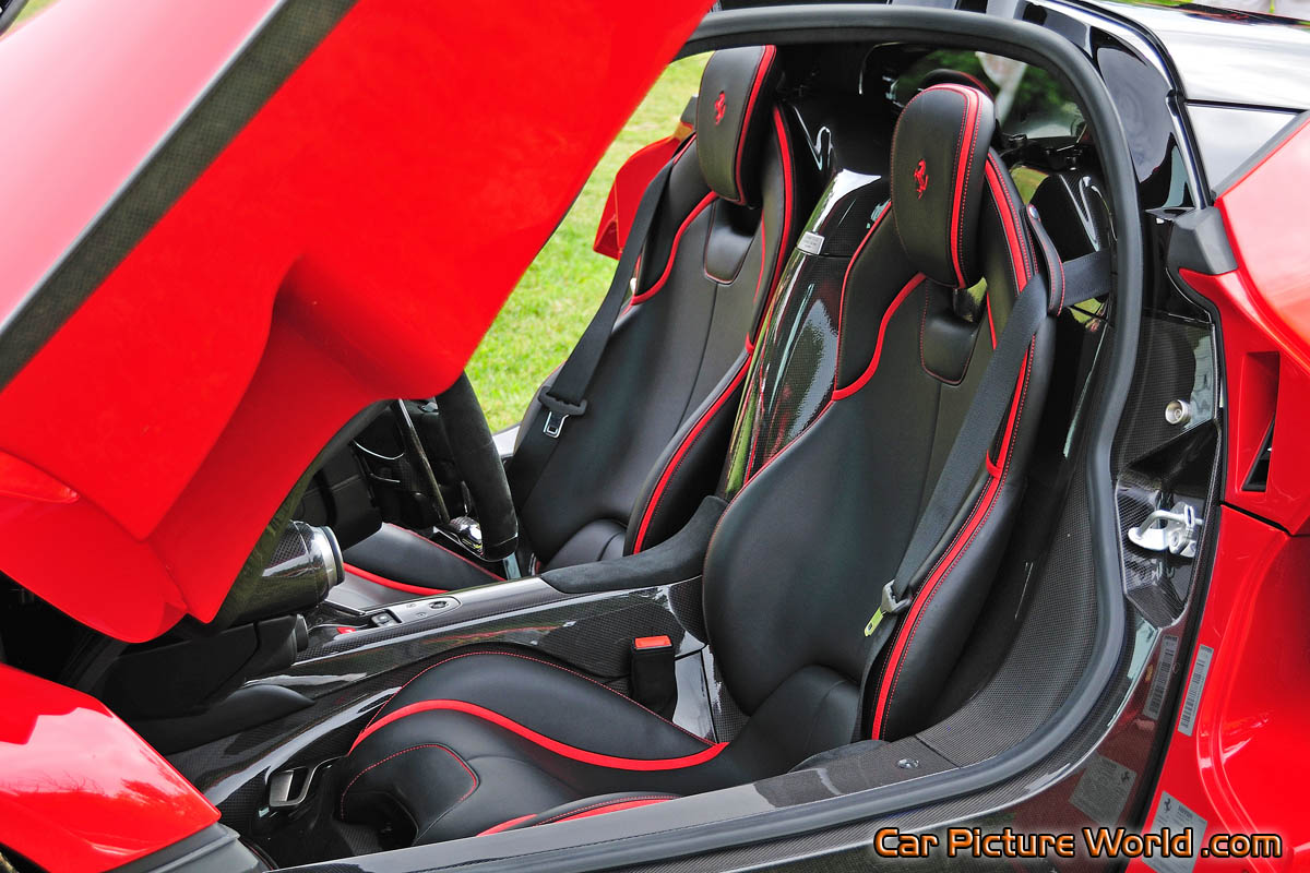 Laferrari Seats Picture