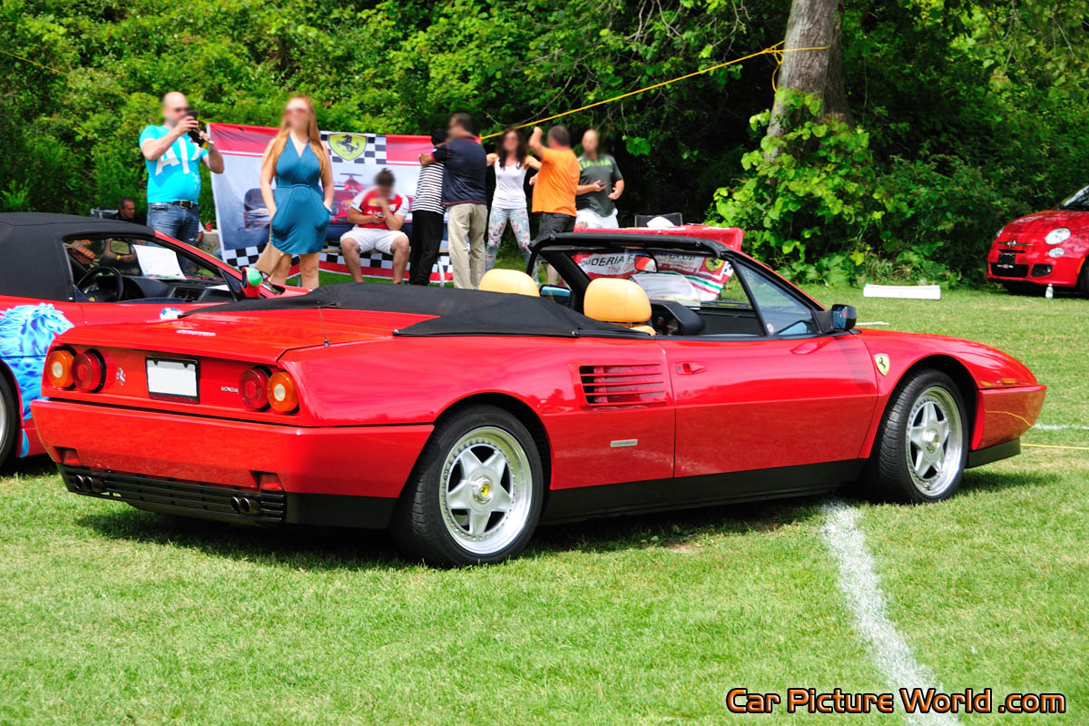 1991 mondial t cabriolet rear right picture. Black Bedroom Furniture Sets. Home Design Ideas
