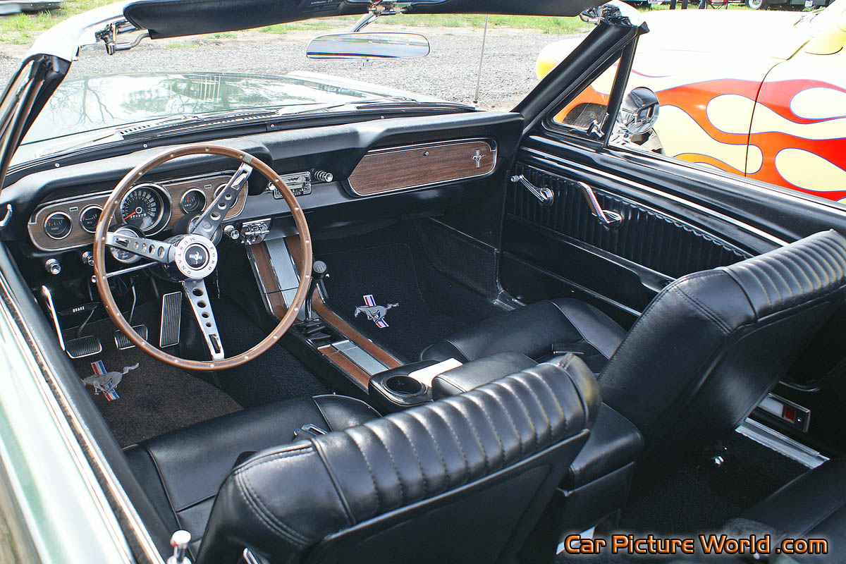 1966 Mustang Convertible Interior Picture
