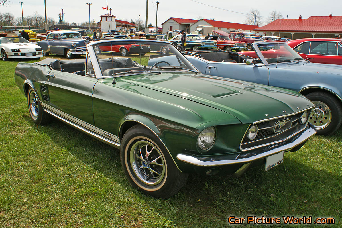 1967 Mustang Gta Convertible Picture