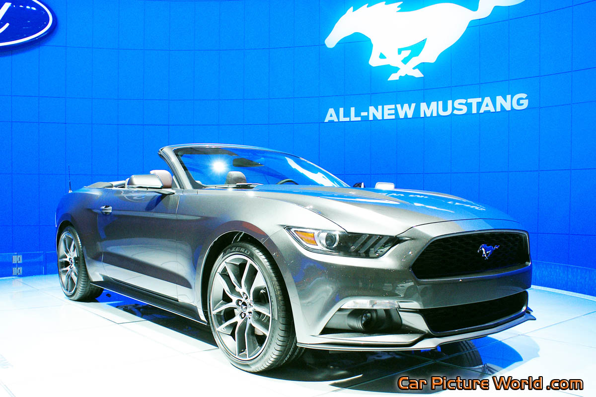 2015 mustang convertible prototype picture. Black Bedroom Furniture Sets. Home Design Ideas