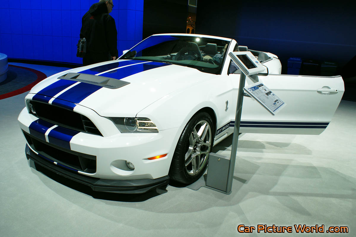 2014 shelby gt 500 convertible front left. Black Bedroom Furniture Sets. Home Design Ideas