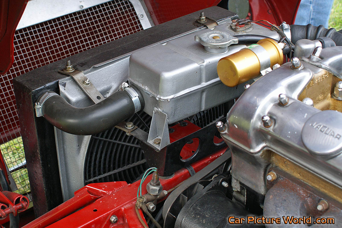 Cars Logos And Names >> 1962 XK-E Roadster Radiator