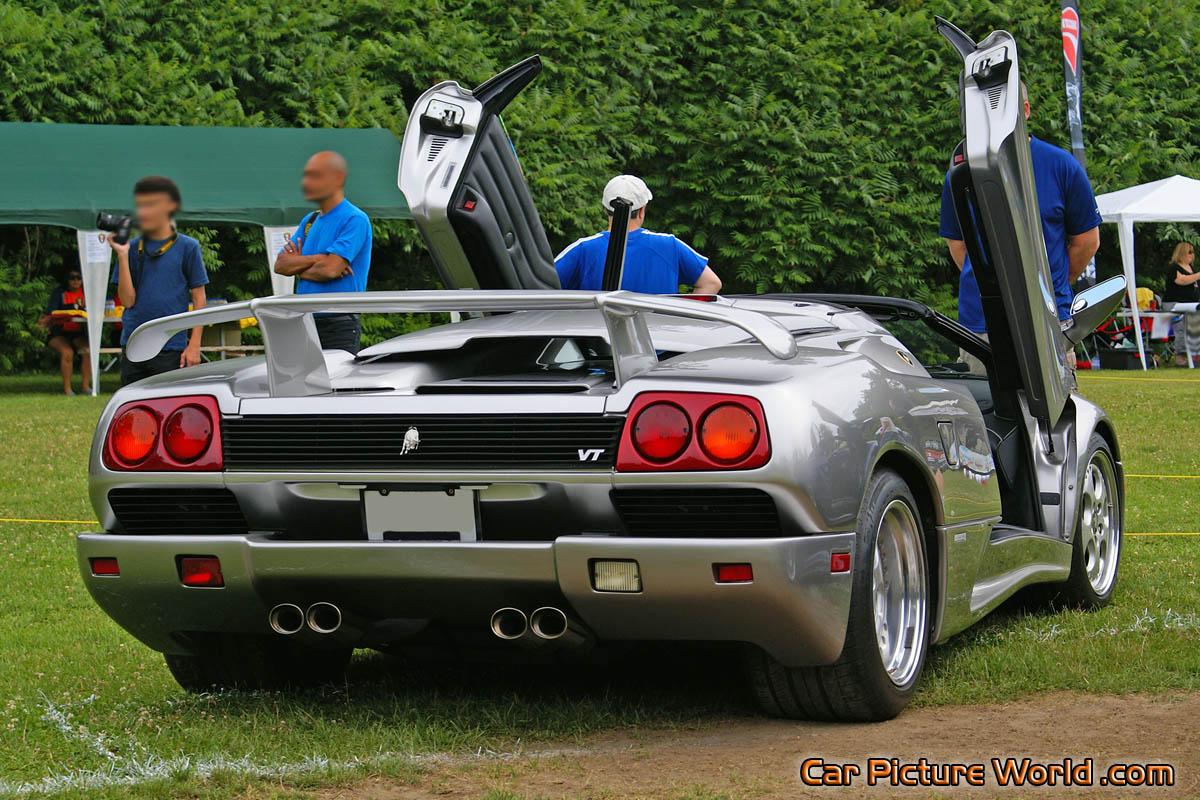 1996 Diablo Vt Roadster Rear Right Picture