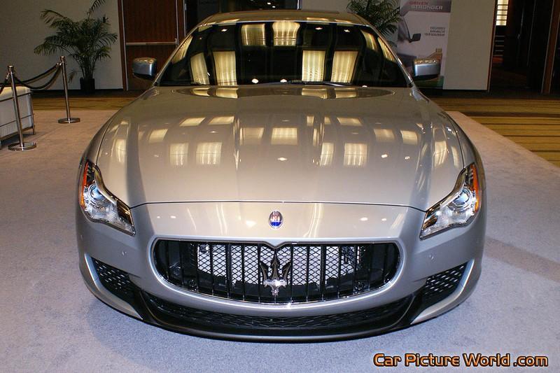 Picture of a Maserati Quattroporte S