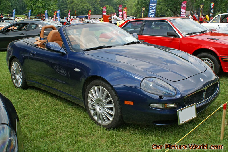 Picture of a Maserati Spyder