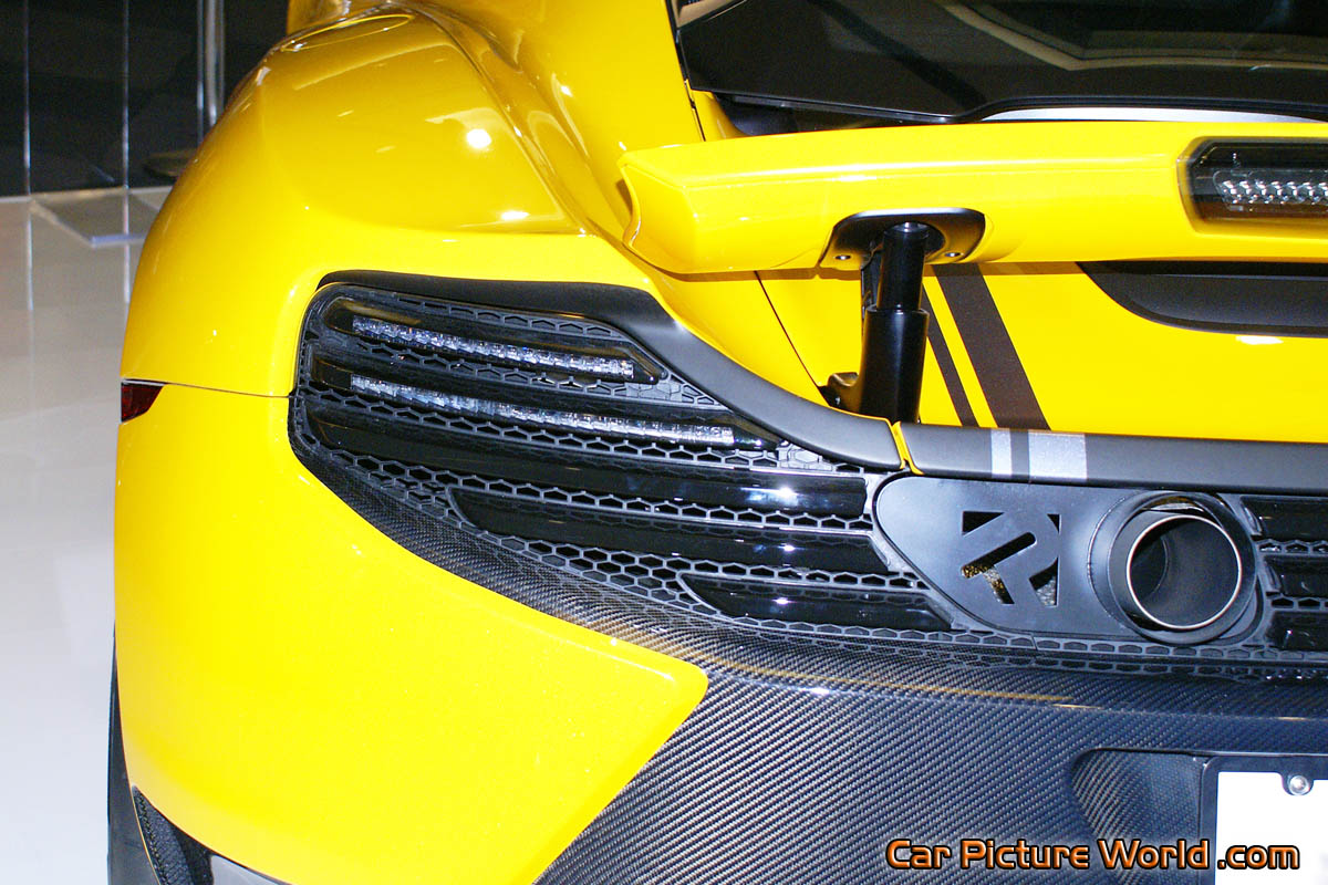 Mclaren 12c Spa F Tail Lights Picture
