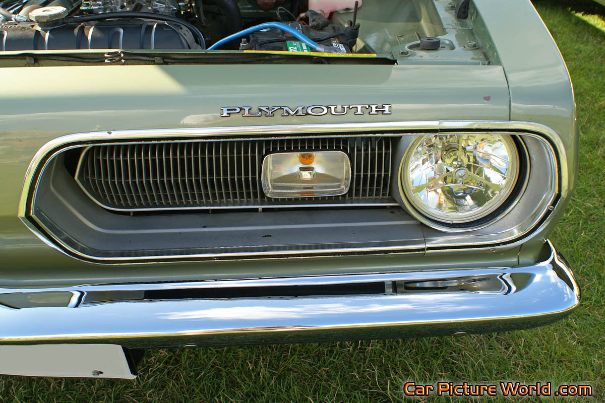 1968 Barracuda Grill Picture
