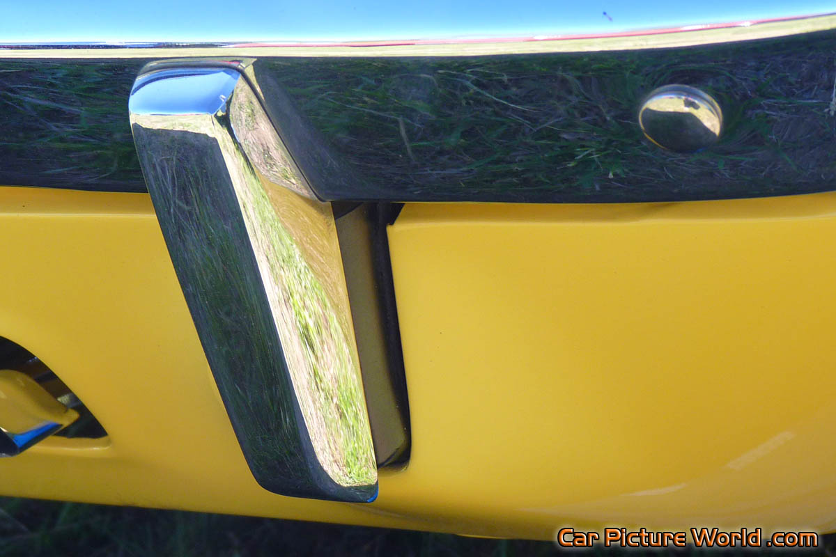 1972 340 Cuda Rear Bumper Guard Picture