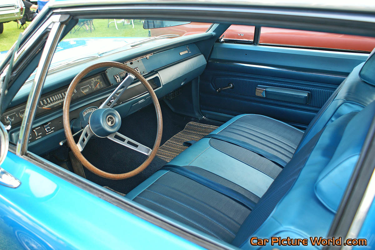 1968 road runner interior picture. Black Bedroom Furniture Sets. Home Design Ideas