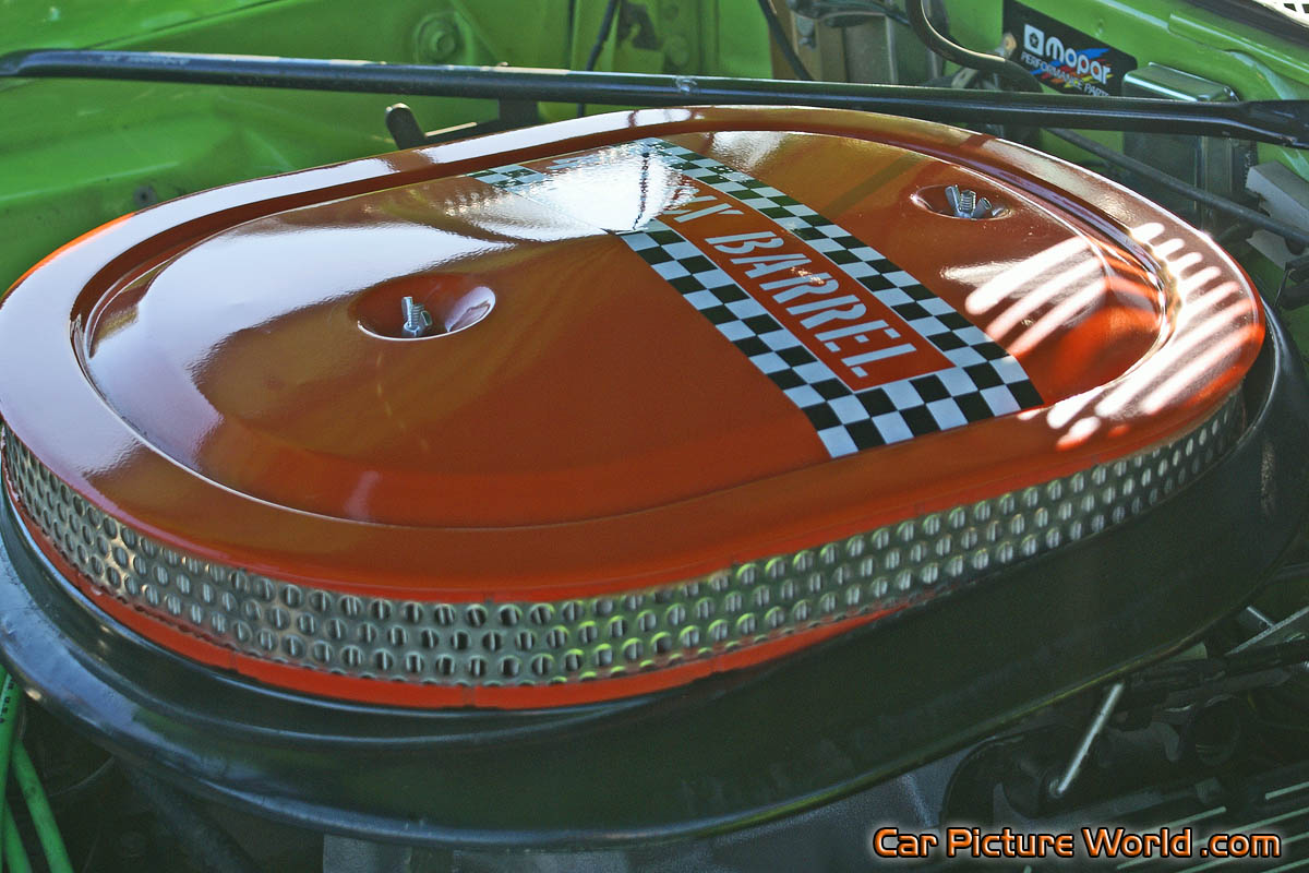 Plymouth Air Cleaner : Bbl road runner air cleaner picture